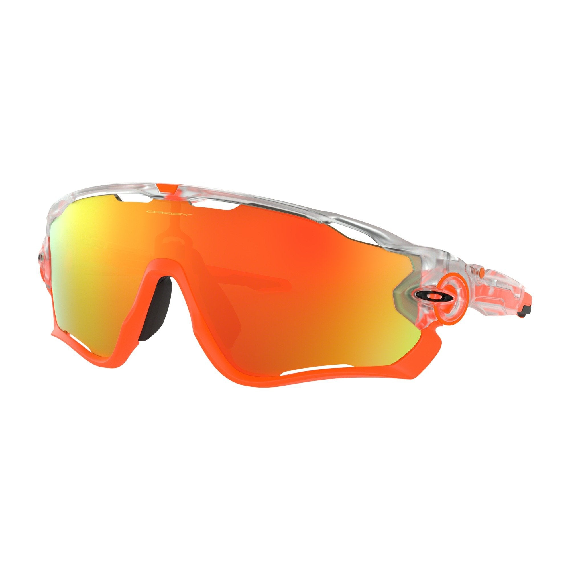Gafas Oakley Jawbreaker Crystal Pop Fire Iridium