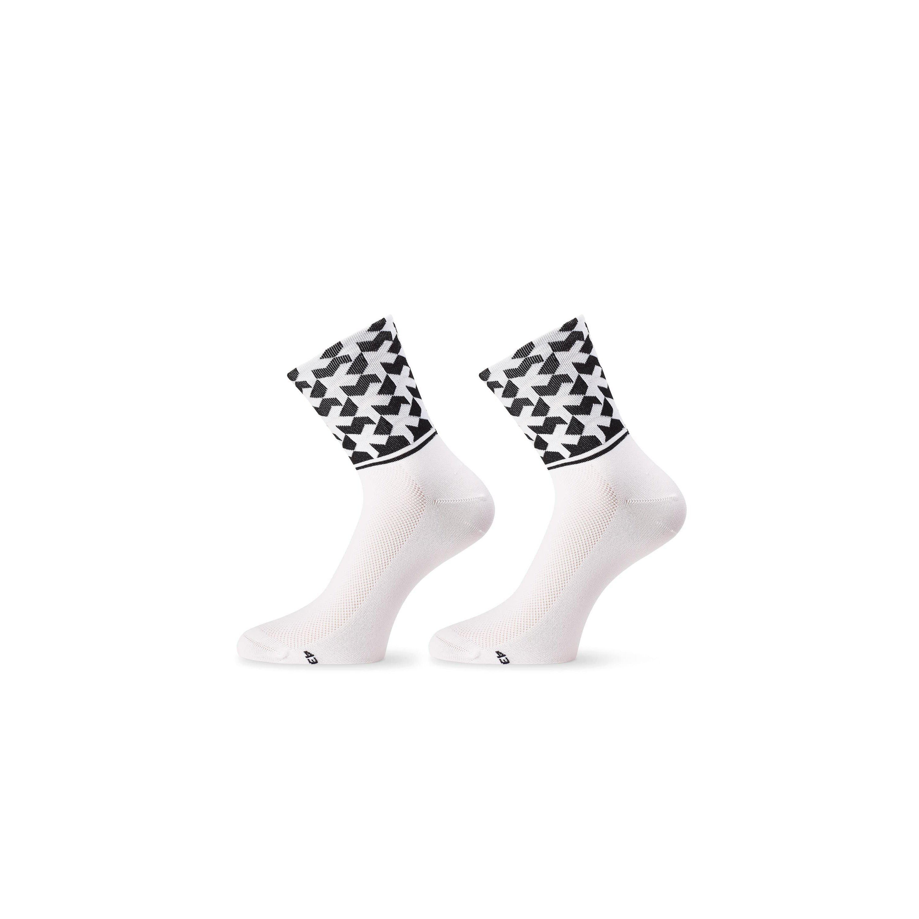 Calcetines ASSOS MONOGRAMSOCKS EVO8 SUMMER Holy White.
