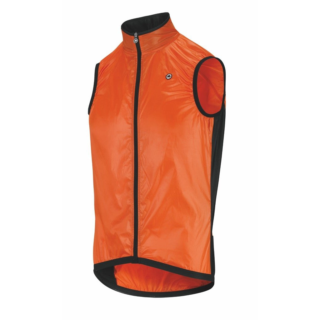 Chaleco cortavientos Assos Mille GT Wind Jacket. Lolly Red. Hombre.