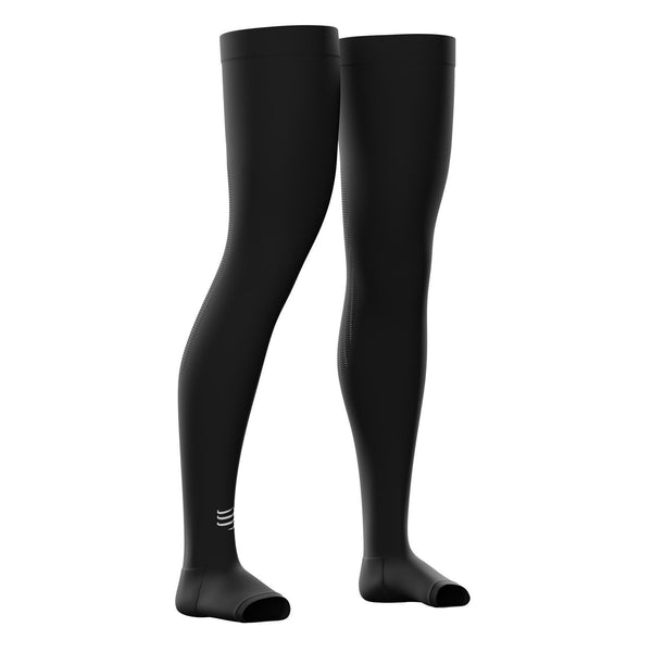 Perneras Compressport Full Leg Total V2 Negro