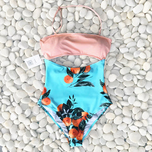 Camille One-piece Cutout Swimsui