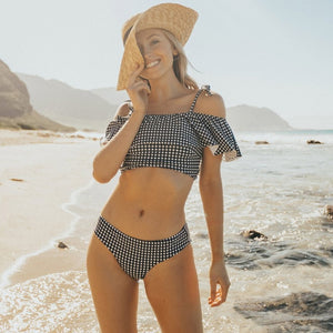 Lanny Off Shoulder Swimsuit