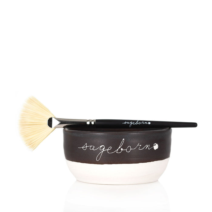 Facial Masque Brush + Masque Bowl