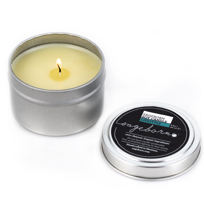 Sageborn Soy Candle