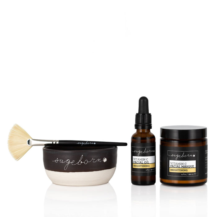Brightening Vitamin C Facial Kit