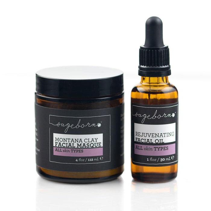 Rejuvenating Facial Oil + Montana Clay Facial Masque