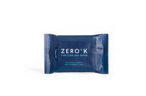 Zero K Wipes - 6 Packs - Cooling & Cleansing Wipes (5 Wipes Per Pack, 30 Wipes Total)