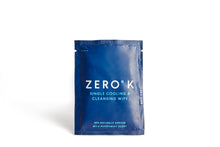 Zero K Wipes - 10 Single Cooling & Cleansing Wipes