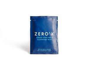 Zero K Wipes - 30 Single Cooling & Cleansing Wipes