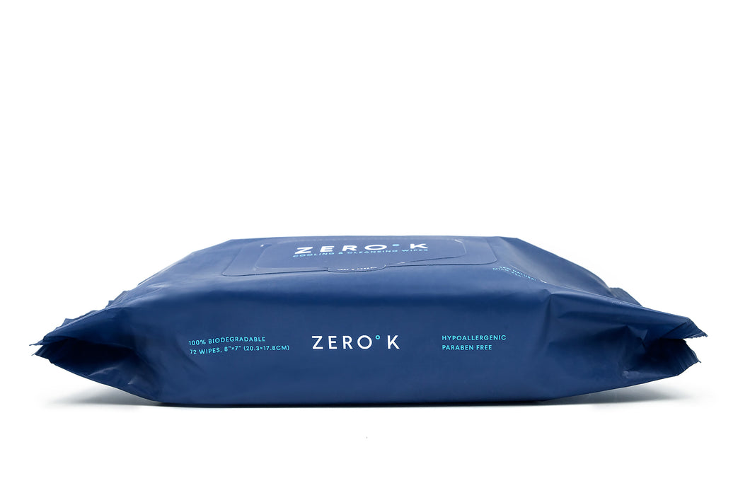 Zero K Wipes - 72-Count Large Pouch