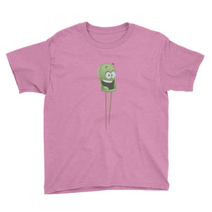 Ed The LED - Youth Short Sleeve T-Shirt