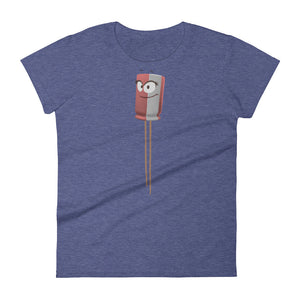 Patty the Capacitor - Short Sleeve T-Shirt (Women)