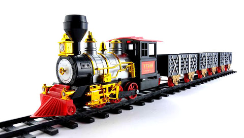 MOTA Holiday Train Set with Smoke and Sound - Best Seller