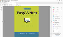 EasyWriter 6th Edition by Andrea A. Lunsford - PDF Version