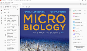 Microbiology: An Evolving Science 4th Edition (PDF Version)