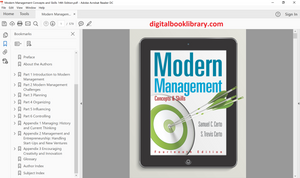 Modern Management: Concepts and Skills 14th Edition - PDF Version