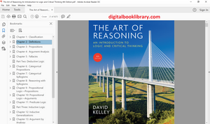 The Art of Reasoning: An Introduction to Logic and Critical Thinking 4th Edition - PDF Version
