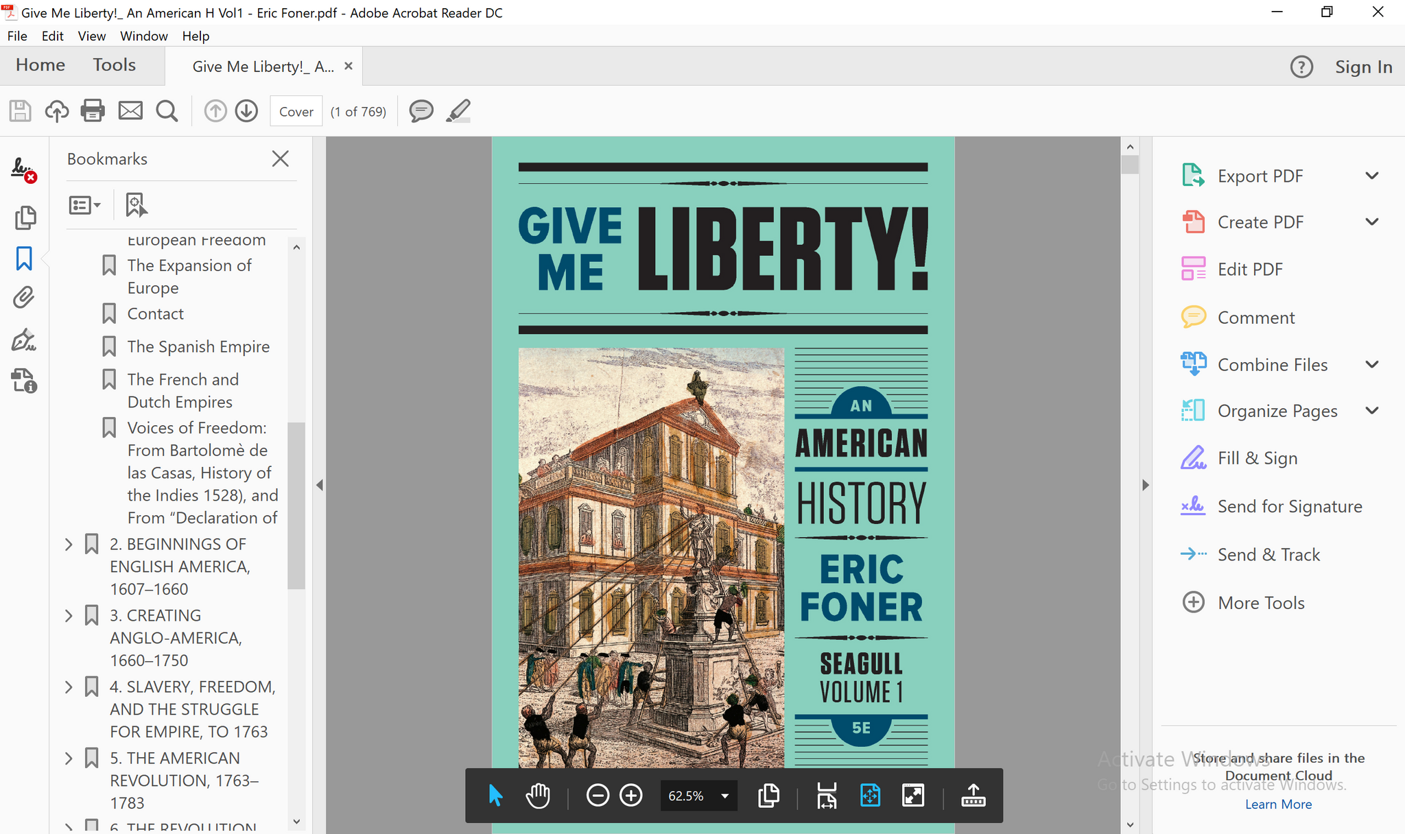 Give me liberty an american history seagull 5th edition vol 1 1 pdf give me liberty an american history seagull 5th edition vol 1 pdf fandeluxe Image collections