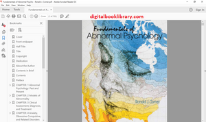Fundamentals of Abnormal Psychology 8th Edition (PDF Version)