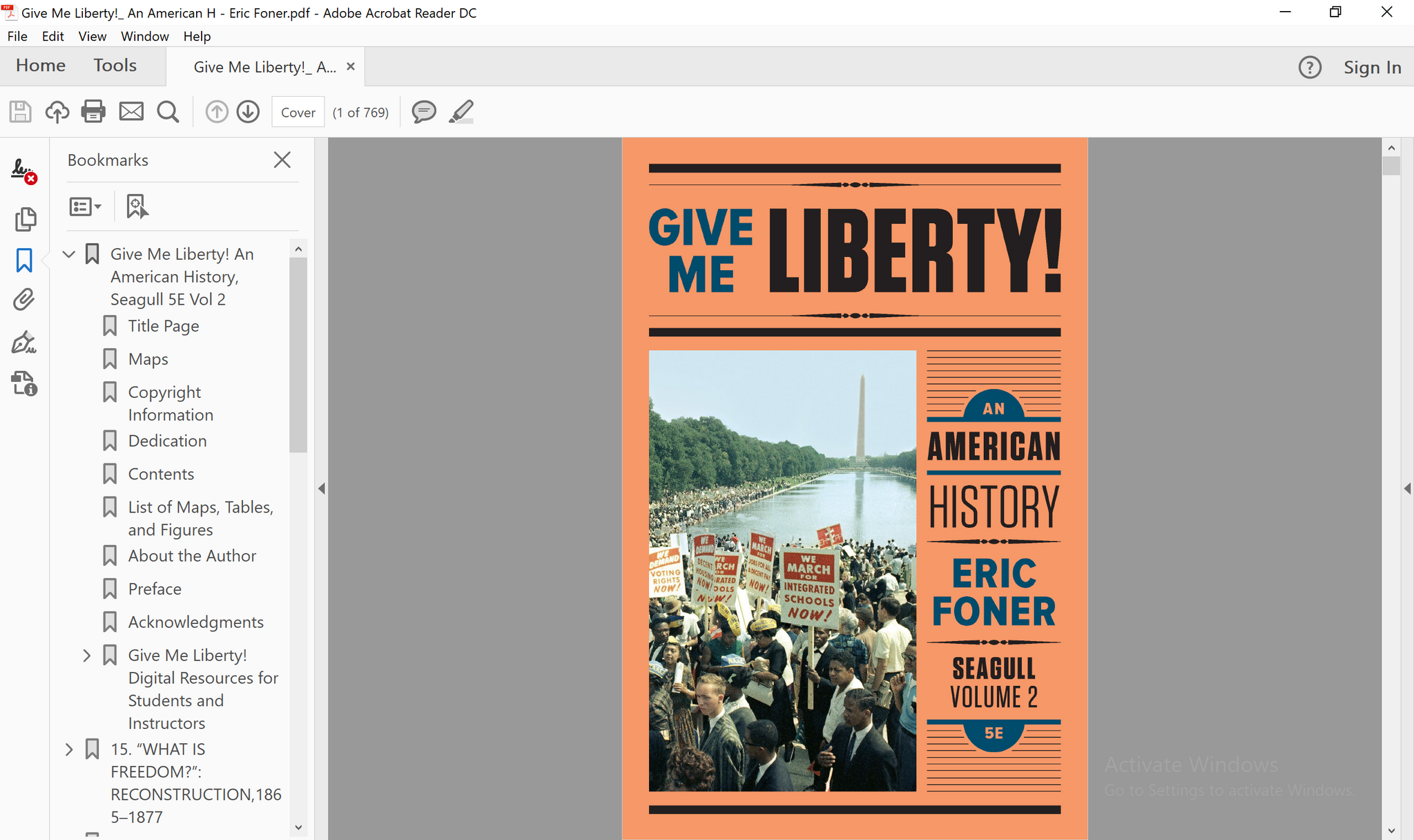 Give me liberty an american history seagull fifth edition vol 2 2 pdf give me liberty an american history seagull fifth edition vol 2 pdf fandeluxe Image collections