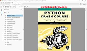 Python Crash Course: A Hands-On, Project-Based Introduction to Programming 1st Edition - PDF Version