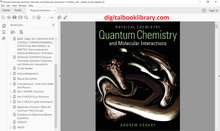 Physical Chemistry: Quantum Chemistry and Molecular Interactions 1st Edition - PDF Version