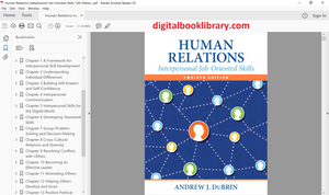 Human Relations: Interpersonal Job-Oriented Skills 12th Edition - PDF Version