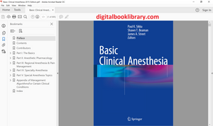 Basic Clinical Anesthesia 2015 Edition - PDF Version