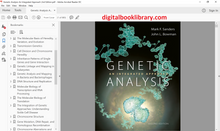 Genetic Analysis: An Integrated Approach 2nd Edition - PDF Version