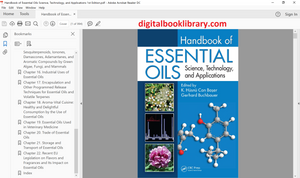 Handbook of Essential Oils: Science, Technology, and Applications 1st Edition - PDF Version