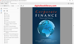 Corporate Finance: Theory and Practice 4th Edition - PDF Version