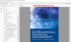 International Financial Management 2nd Edition - PDF Version