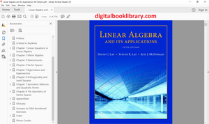 Linear Algebra and Its Applications 5th Edition - PDF Version