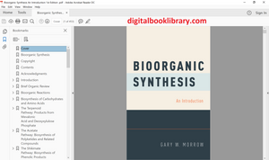 Bioorganic Synthesis: An Introduction 1st Edition - PDF Version