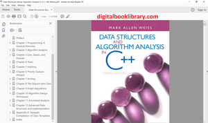 Data Structures & Algorithm Analysis in C++ 4th Edition - PDF Version