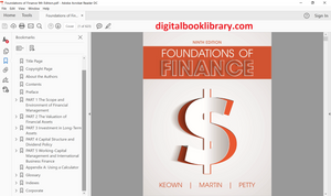 Foundations of Finance 9th Edition - PDF Version