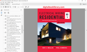 Electrical Wiring Residential 18th Edition - PDF Version