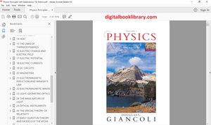 Physics: Principles with Applications 7th Edition - PDF Version