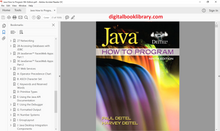 Java: How to Program 9th Edition - PDF Version