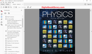 Physics 5th Edition by James S. Walker - PDF Version