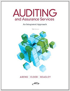 Auditing and Assurance Services 14th Edition - PDF Version