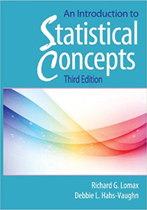 An Introduction to Statistical Concepts, 3rd Edition - PDF Version