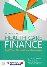 Health Care Finance: Basic Tools for Nonfinancial Managers 5th Edition - PDF Version