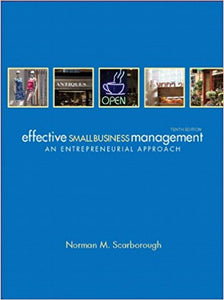 Effective Small Business Management 10th Edition - PDF Version