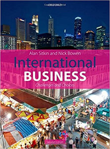 International Business 2nd Edition by Alan Sitkin - PDF Version