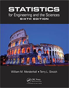 Statistics for Engineering and the Sciences 6th Edition - PDF Version