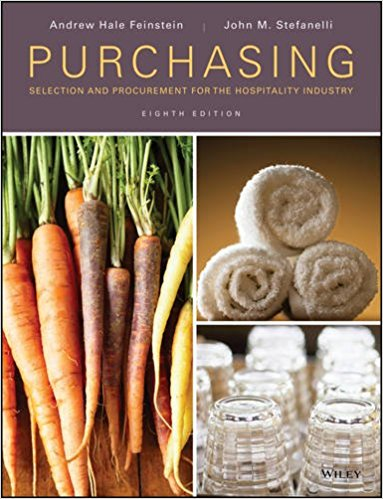 Purchasing: Selection and Procurement for the Hospitality Industry 8th Edition - PDF Version