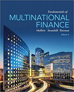 Fundamentals of Multinational Finance 5th Edition - PDF Version