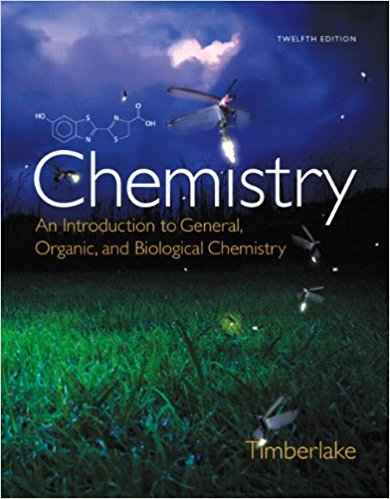 Chemistry: An Introduction to General, Organic, and Biological Chemistry 12th Edition - PDF Version