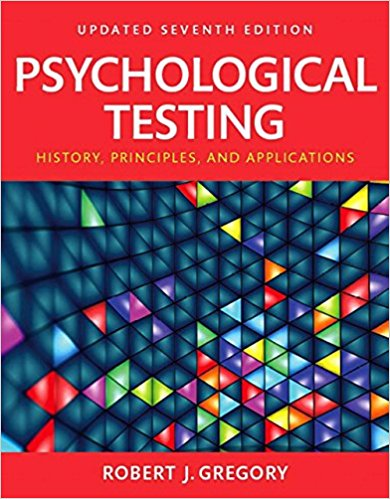 Psychological Testing: History, Principles, and Applications, updated 7th Edition - PDF Version